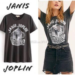 Janis Joplin Tee NEW Graphic T-Shirt